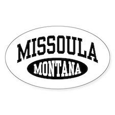 Missoula Montana Decal