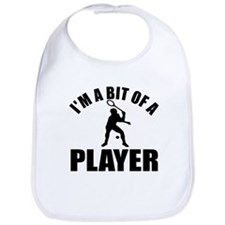 I'm a bit of a player squash Bib