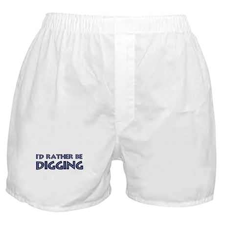 Rather be Digging Boxer Shorts