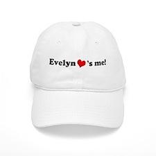 Evelyn loves me Baseball Cap