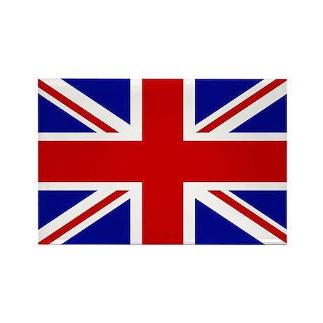 Union Jack British Flag | Rectangle Magnet