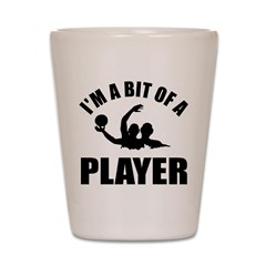 I'm a bit of a player water polo Shot Glass