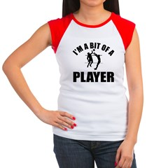 I'm a bit of a player volley ball Women's Cap Slee