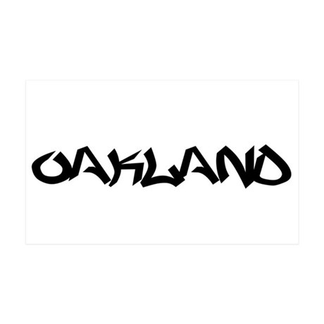 Oakland (www.repoakland.com) 38.5 x 24.5 Wall Peel