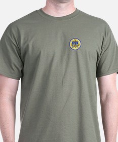 USN Personalizable with Ship or Unit T-Shirt