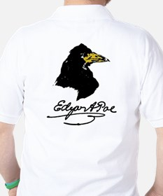 The Raven by Edgar Allan Poe Golf Shirt