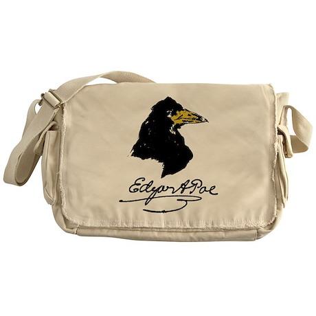 The Raven by Edgar Allan Poe Messenger Bag