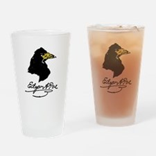 The Raven by Edgar Allan Poe Drinking Glass