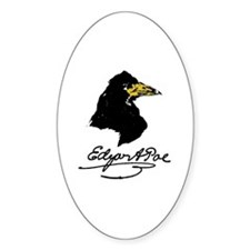 The Raven by Edgar Allan Poe Decal