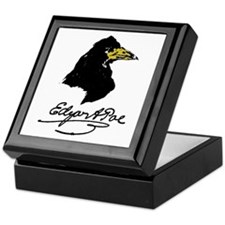 The Raven by Edgar Allan Poe Keepsake Box