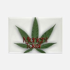 Midnight Toker Rectangle Magnet