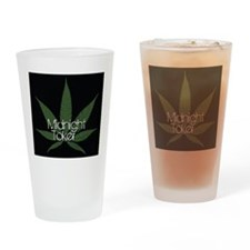 Midnight Toker Drinking Glass