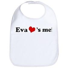 Eva loves me Bib
