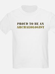 Proud Archaeologist II Kids T-Shirt