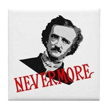 NEVERMORE by Poe Tile Coaster