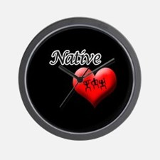 Native Warrior Accessories Wall Clock