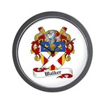 Walker Coat of Arms Wall Clock