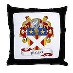 Walker Coat of Arms Throw Pillow