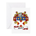 Walker Coat of Arms Greeting Cards (Pk of 10)
