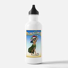 Mele Kalikimaka ( Merry Chris Water Bottle