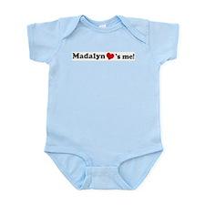 Madalyn loves me Infant Creeper