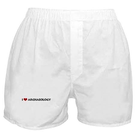 I Love Archaeology Boxer Shorts