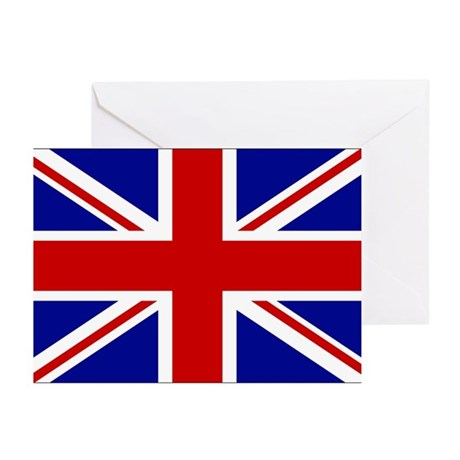 Union Jack British Flag | Greeting Cards (Package