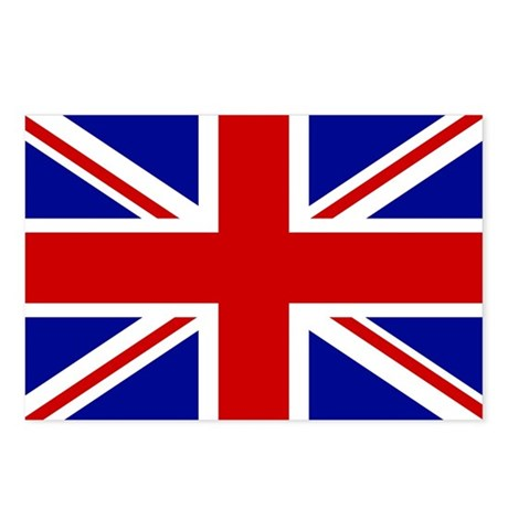 Union Jack British Flag | Postcards (Package of 8