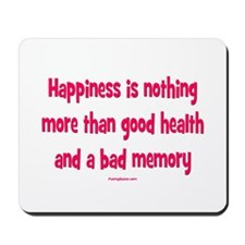 Happiness is Mousepad