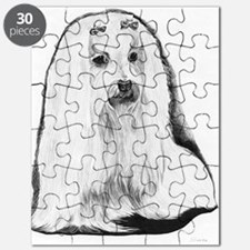 Maltese Pencil Drawing Puzzle
