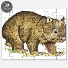 Wombat drawing Puzzle