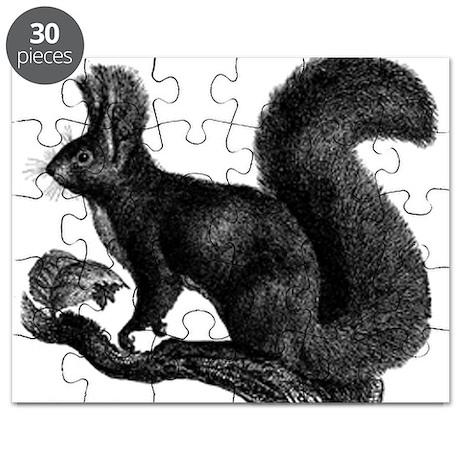 European Red Squirrel Puzzle