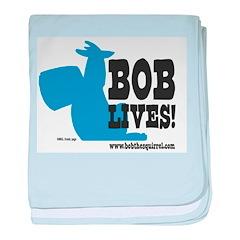 Bob Lives! baby blanket