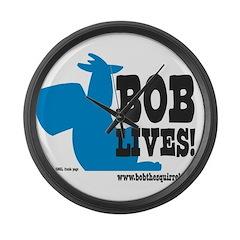 Bob Lives! Large Wall Clock