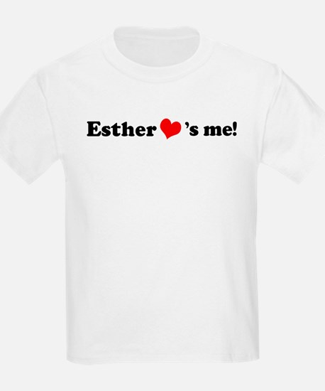 Esther loves me Kids T-Shirt