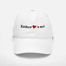 Esther loves me Baseball Baseball Cap