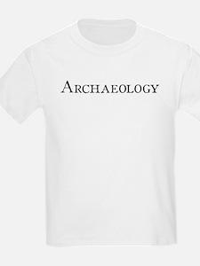 Archaeology Kids T-Shirt