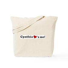 Cynthia loves me Tote Bag