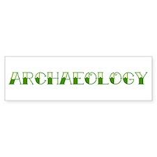 Archaeology Tattoo Bumper Bumper Sticker