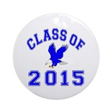 Class Of 2015 Eagle Ornament (Round)