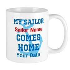 Customizable Sailor Homecomin Mug