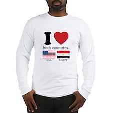 USA-EGYPT Long Sleeve T-Shirt