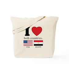 USA-EGYPT Tote Bag