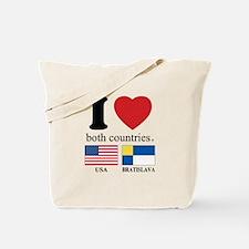 USA-BRATISLAVA Tote Bag