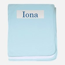 Iona baby blanket