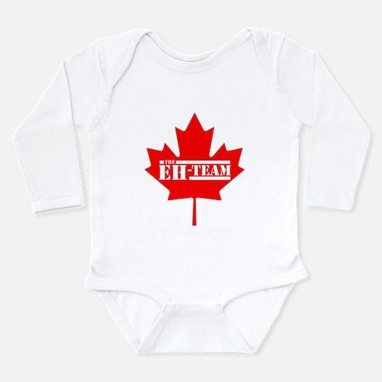 The Eh Team Long Sleeve Infant Bodysuit