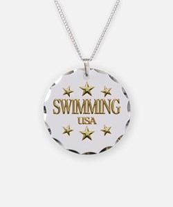 USA Swimming Necklace