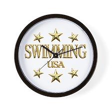 USA Swimming Wall Clock