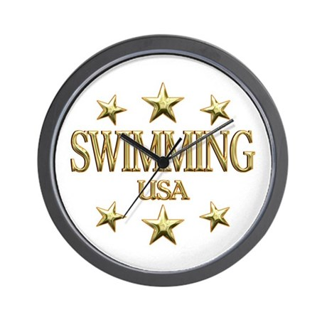 USA Swimming Wall Clock