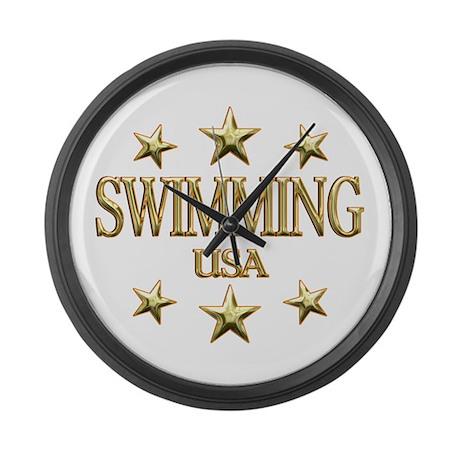 USA Swimming Large Wall Clock